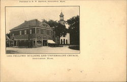 Odd Fellows' Building and Universalist Church