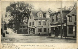 Wompatuck Club, South and Central Sts.