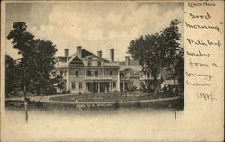 Home of Mrs. W.B. Bacon