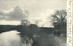 Charles River, Morse Estate Postcard