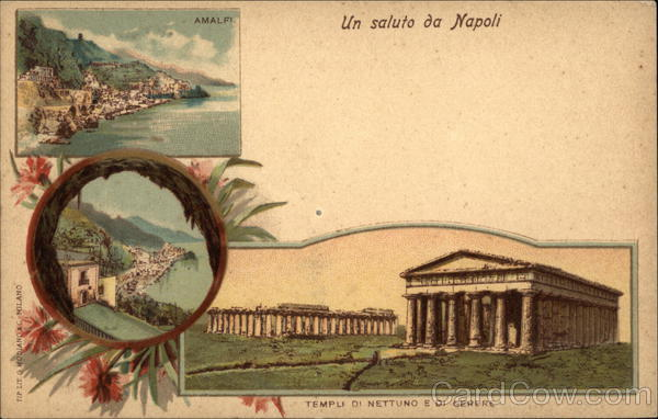 Temples of Neptune and Ceres Naples Italy