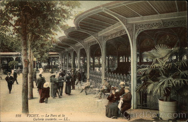 Vichy Park and Covered Gallery France