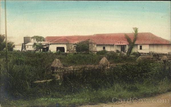 Old Convent Los Banos Philippines Southeast Asia