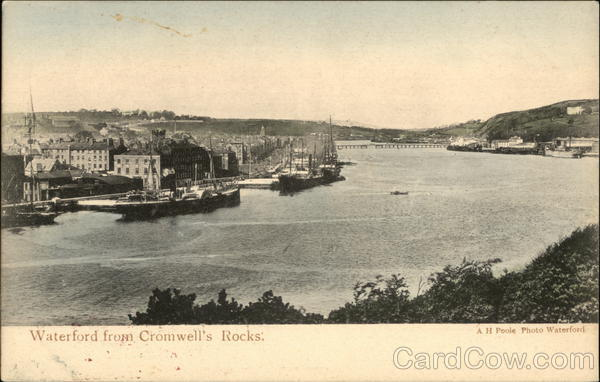 Waterford from Cromwell's Rocks United Kingdom
