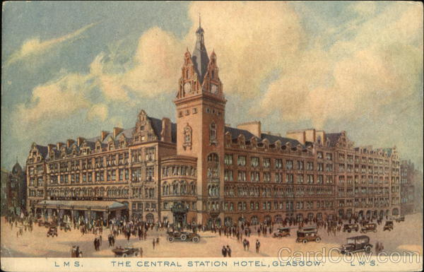 The Central Station Hotel Glasgow Scotland