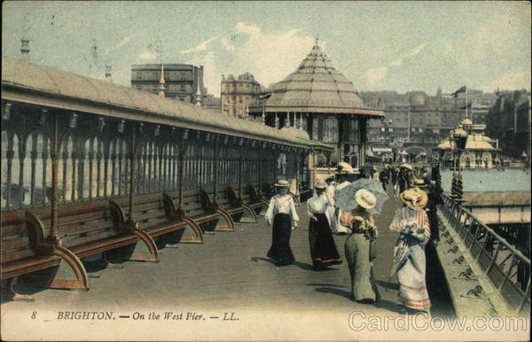 On the West Pier Brighton England Sussex