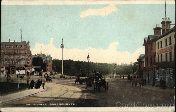 The Square Bournemouth England Dorset