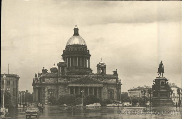 Saint Isaac's Cathedral Moscow Russia