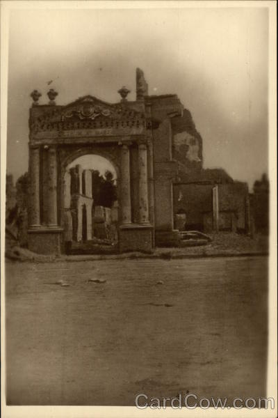 Ypres- St. Martin's gate Belgium Benelux Countries
