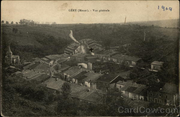 General View of Town Gery France