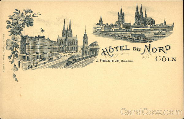 Hotel du Nord Cologne Germany