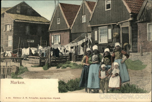 Marken The Netherlands Benelux Countries