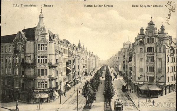 Martin Luther Strasse Berlin Germany