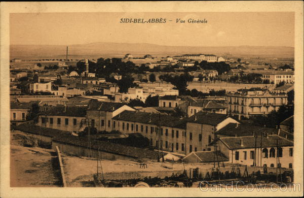 General View of Town Sidi Bel-Abbes Algeria Africa