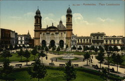 View of Plaza Constitucion