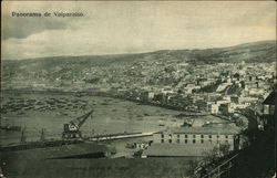 Panoramic View of Valparaiso