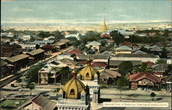 General View of Rangoon, From Top of Public Offices