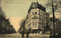 View of Avenue de Clichy (Fork in the Road)