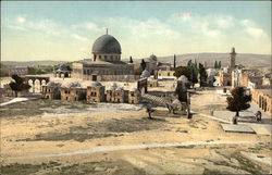General View of Temple Area, Jerusalem