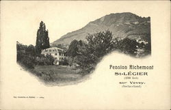 Pension Richemont. St-Legier (1800 feet) sur Vevey (Switzerland).