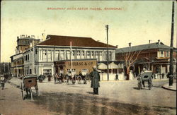 Broadway with Astor House