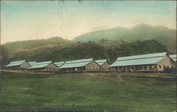 View of Barracks at Camp Eldridge