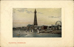 Promenade and Tower Postcard