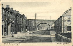 Whalley Road, Accrington Postcard