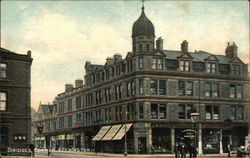 Bridge's Corner, Accrington Postcard