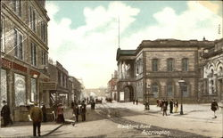 Blackburn Road, Accrington Postcard