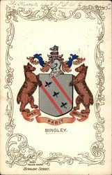 Bingley Coat of Arms Postcard
