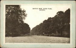 "View of Hyde Park's ""Rotten Row"""