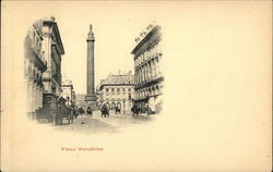 Drawing of Place Vendome
