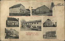 Views of Ansdorf Gasthauskarte