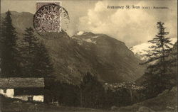 Gressoney St. Jean (1391) - Panorama