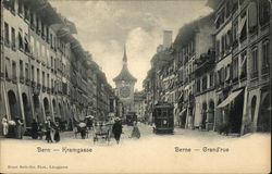 Photo of Kramgasse street in Bern