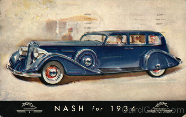 Nash for 1934 Cars