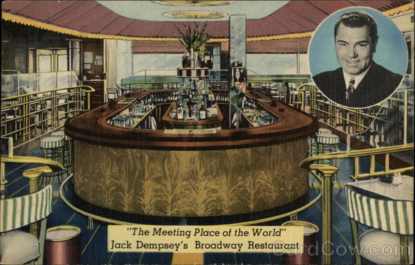 Jack Dempsey's Broadway Restaurant New York