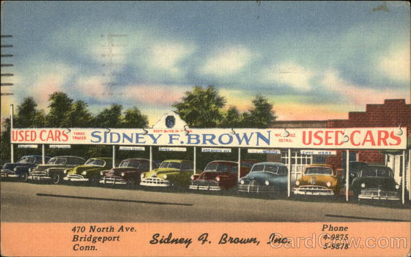 Sidney F. Brown Used Cars Bridgeport Connecticut