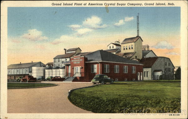 Grand Island Plant of American Crystal Sugar Company Nebraska