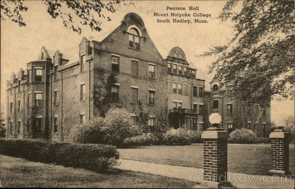 Pearson Hall, Mount Holyoke College South Hadley Massachusetts