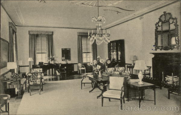 The Lounge at Smith College Northampton Massachusetts