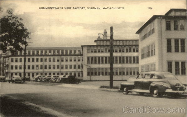 Commonwealth Shoe Factory Whitman Massachusetts