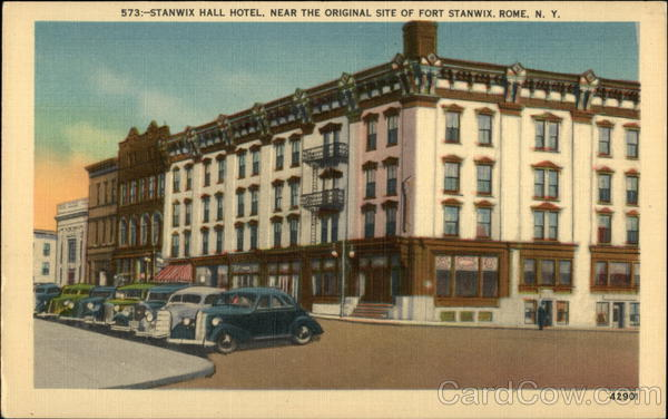 Stanwix Hall Hotel Near The Original Site Of Fort
