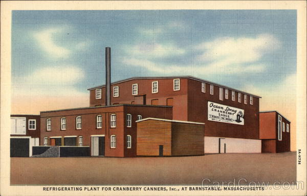 Refrigerating Plant For Cranberry Canners, Inc Barnstable Massachusetts