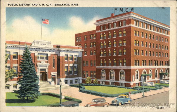 Public Library and Y.M.C.A. Brockton Massachusetts