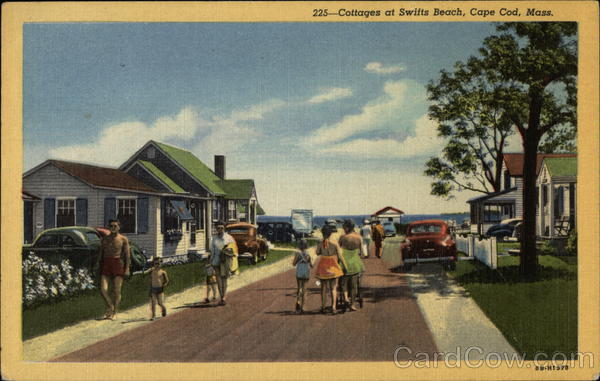 Cottages at Swifts Beach Cape Cod Massachusetts