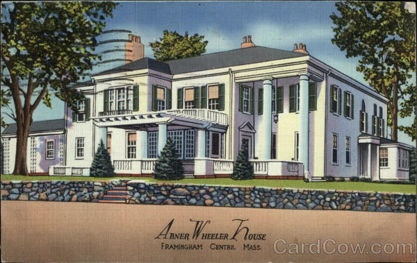 Abner Wheeler House Framingham Massachusetts