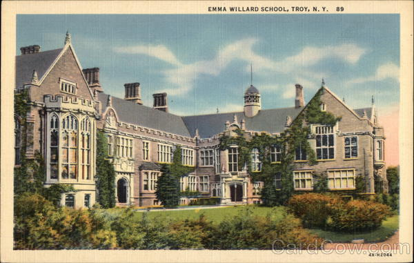 Emma Willard School Troy New York
