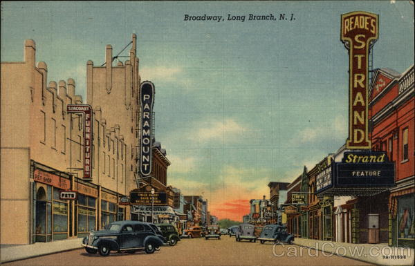 Broadway Long Branch New Jersey